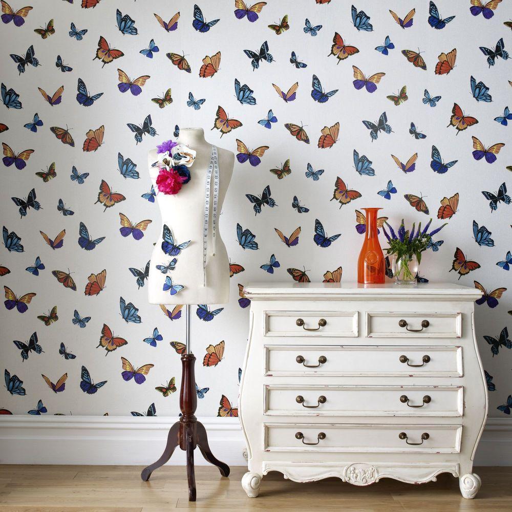 Graham & Brown FlutterBy White Wallpaper