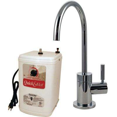 Chrome - Adjustable Flow Rate - Instant Hot & Cold Water ...