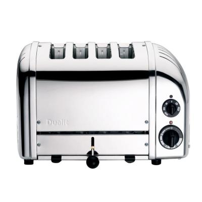 New Gen 4-Slice Chrome Wide Slot Toaster with Crumb Tray