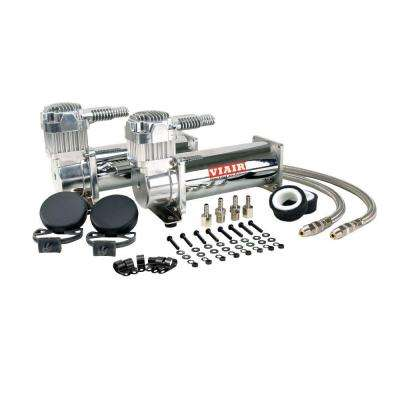 444C 12-Volt 200 psi Dual Value Pack (Chrome)