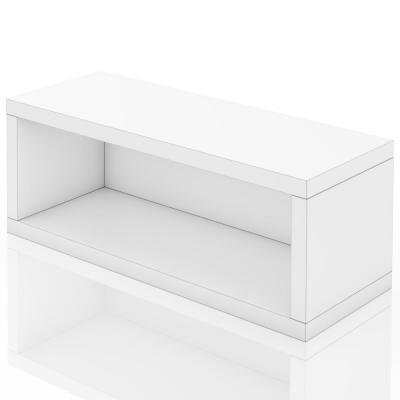 zBoard White Stackable CD Rack Storage