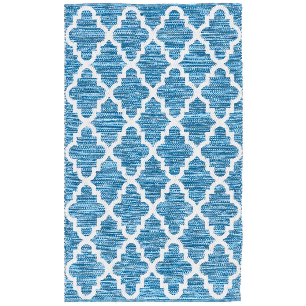 Montauk Blue/Ivory 3 ft. x 5 ft. Area Rug