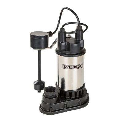 1/2 HP Submersible Sump Pump