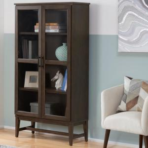 HomeDepot.com deals on Home Decorators Collection Bellamy Wood 5-Shelf Bookcase