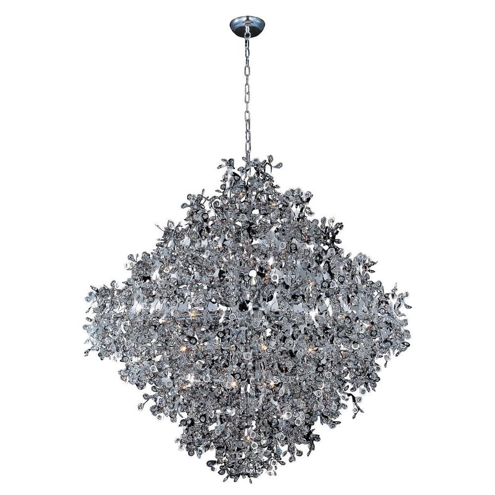 Maxim Lighting Comet 21 Light Polished Chrome Single Pendant
