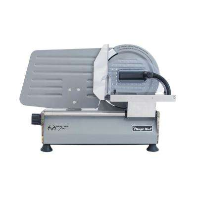8.6 in. Electric Meat Slicer in Realtree Xtra Camouflage