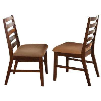Eden Dark Cherry Side Chair (Set of 2)