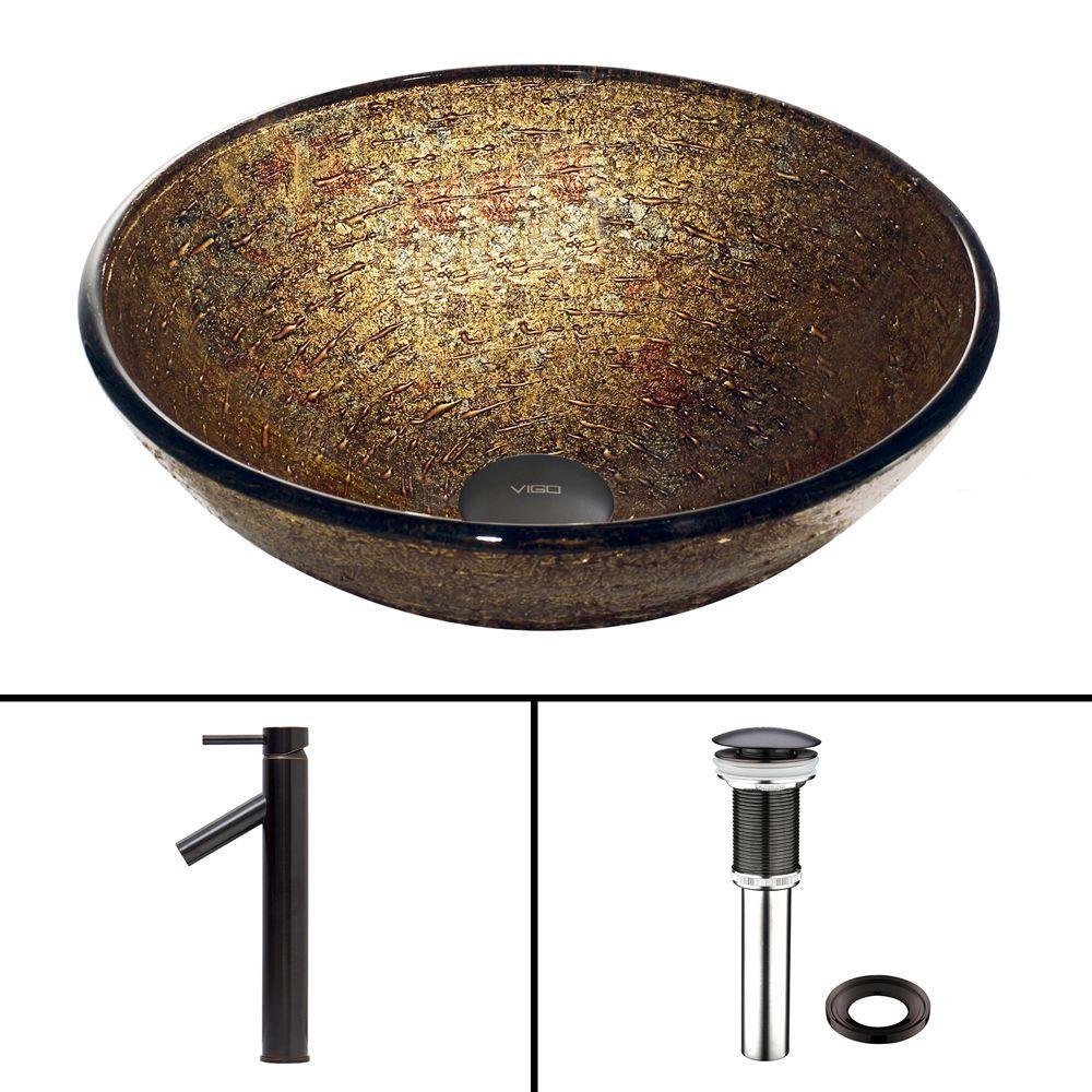 617 Silver Mesh Gl Vessel Sink
