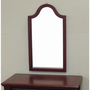 31 9 In X 2 Cherry Wood Framed Wall Mirror