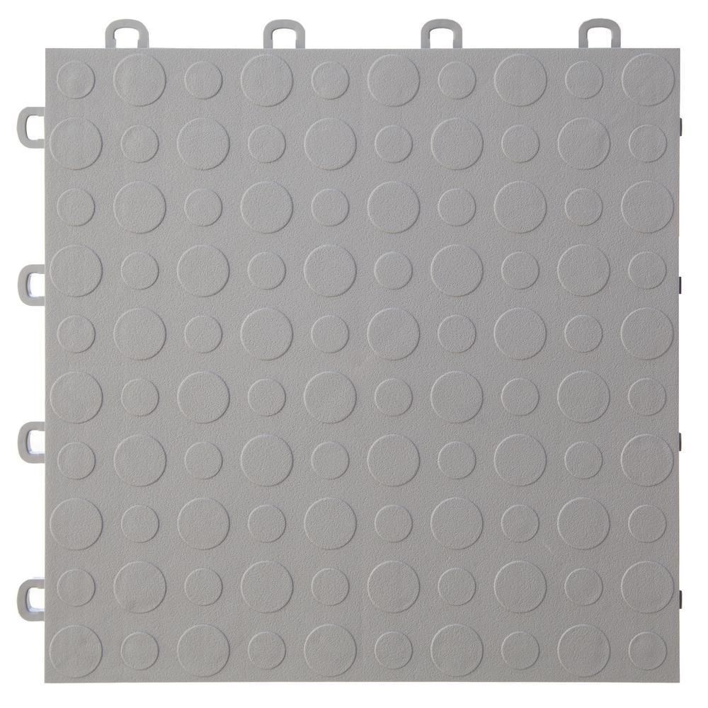 12 in. x 12 in. Modular Interlocking Garage Floor Tiles (Set of 30)