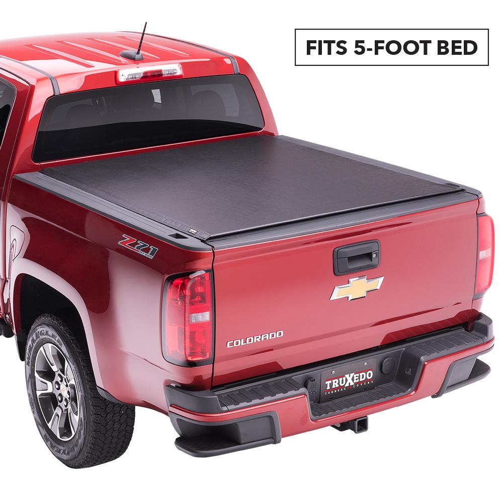 Truxedo Lo Pro 15 19 Chevy Colorado Gmc Canyon 5 Ft Bed Tonneau Cover With Sport Bar 549901 The Home Depot