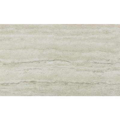 4 in. Ultra Compact Surface Countertop Take Home Sample in Sterling Travertine