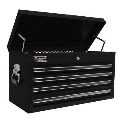 Professional 27 in. 4-Drawer Top Chest, Black