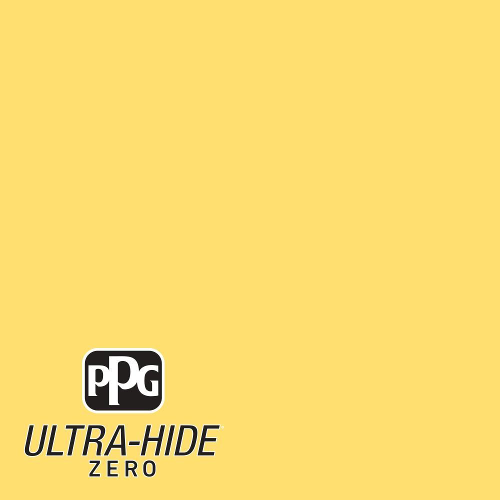 1 gal. #HDPY41 Ultra-Hide Zero Sunspot Eggshell Interior Paint