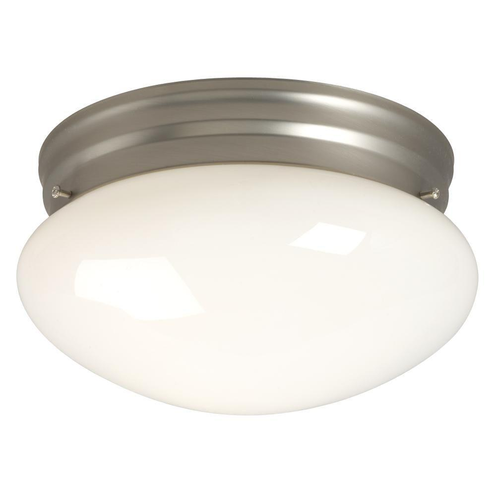 Filament Design Negron 1-Light Pewter Incandescent Flush Mount
