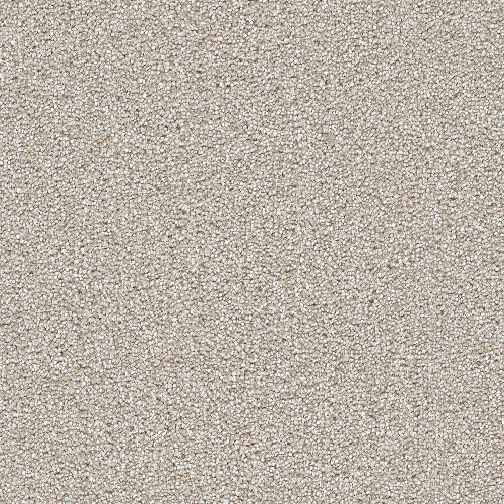 Carpet Sample - Soft Breath II - Color Arrowridge Texture 8 in. x 8 in.