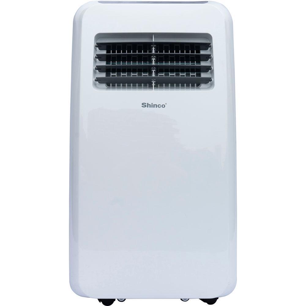 8000 BTU 4500 BTU (DOE) Portable Air Conditioner with Dehumidifier in White