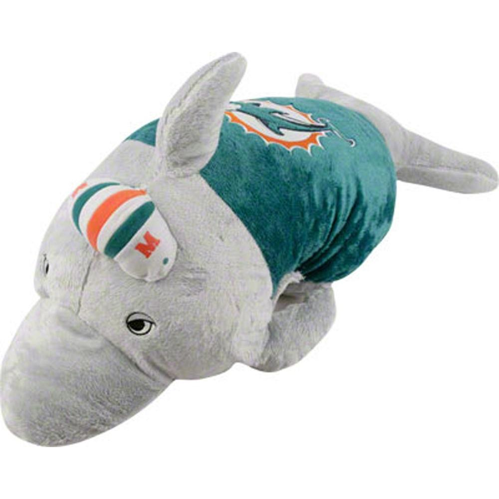 Fabrique Innovations Miami Dolphins Pillow-DISCONTINUED