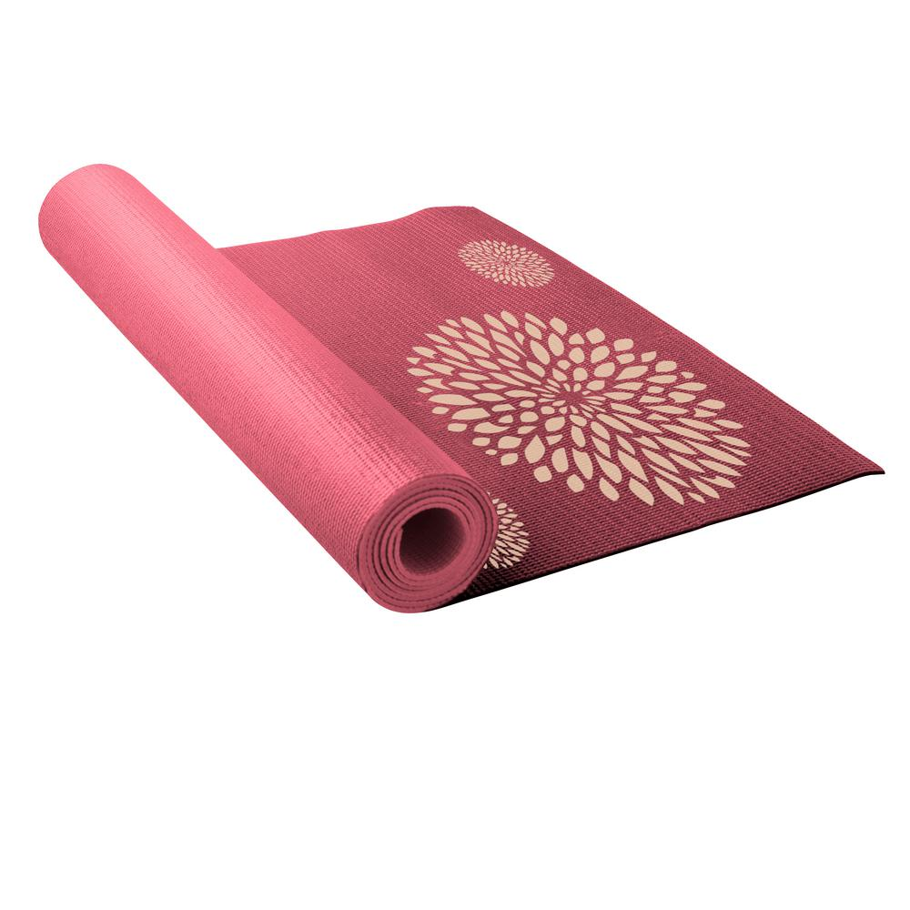 Lotus Printed 5 Mm Yoga Mat-LY5PM416