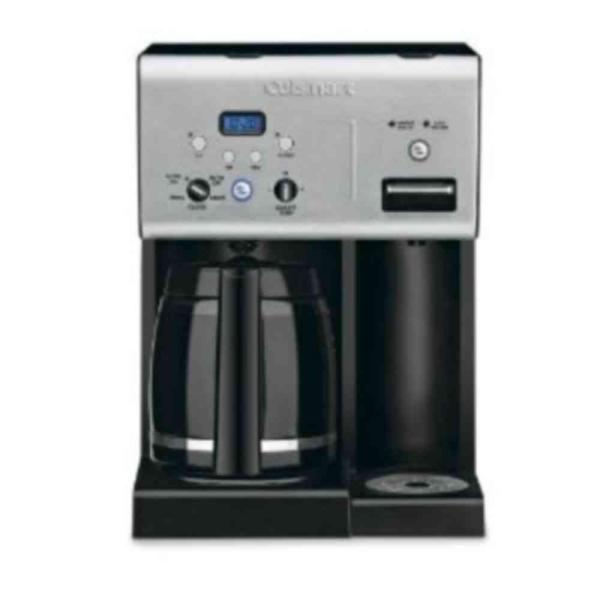 Cuisinart 12-Cup Programmable Black Drip Coffee Maker with Automatic Shut-Off