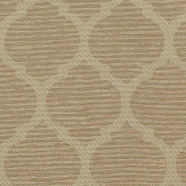 3 in. x 3 in. CYOC Fabric Swatch in Toffee Trellis