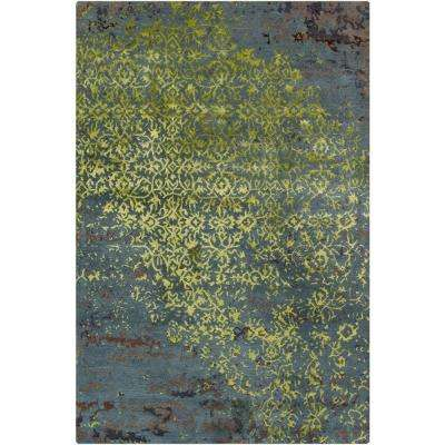 Rupec Blue/Green/Brown 5 ft. x 8 ft. Indoor Area Rug