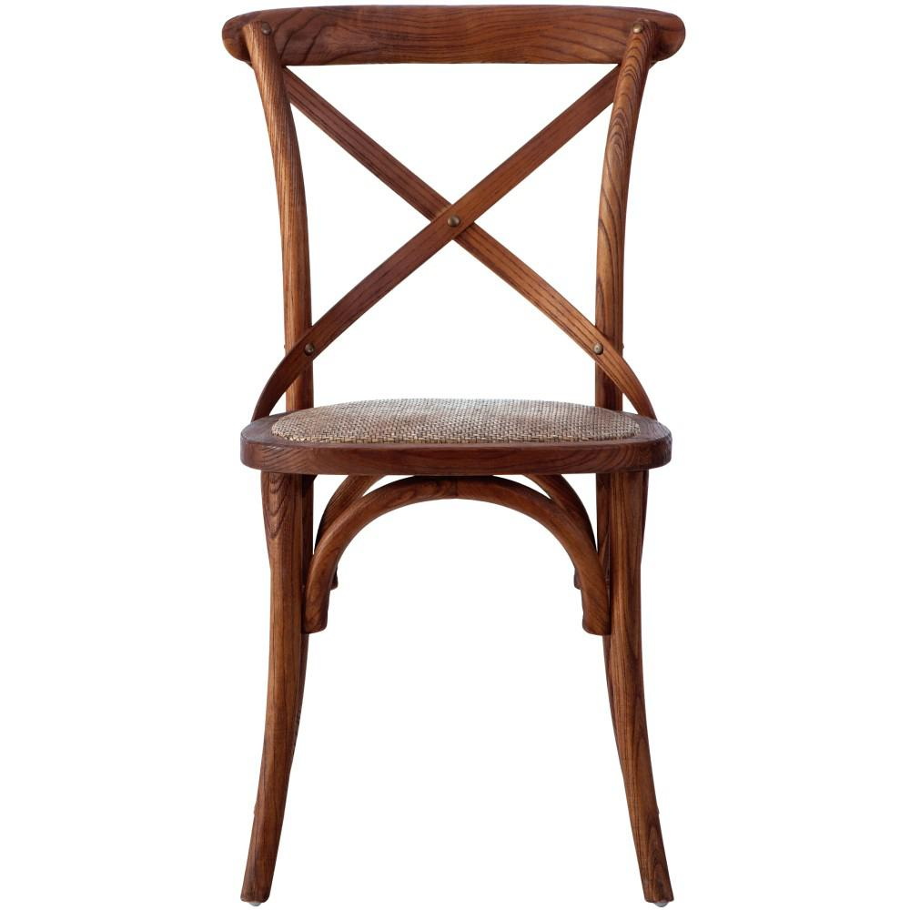 Hyde Cane Wood Dining Chair (Set of 2)
