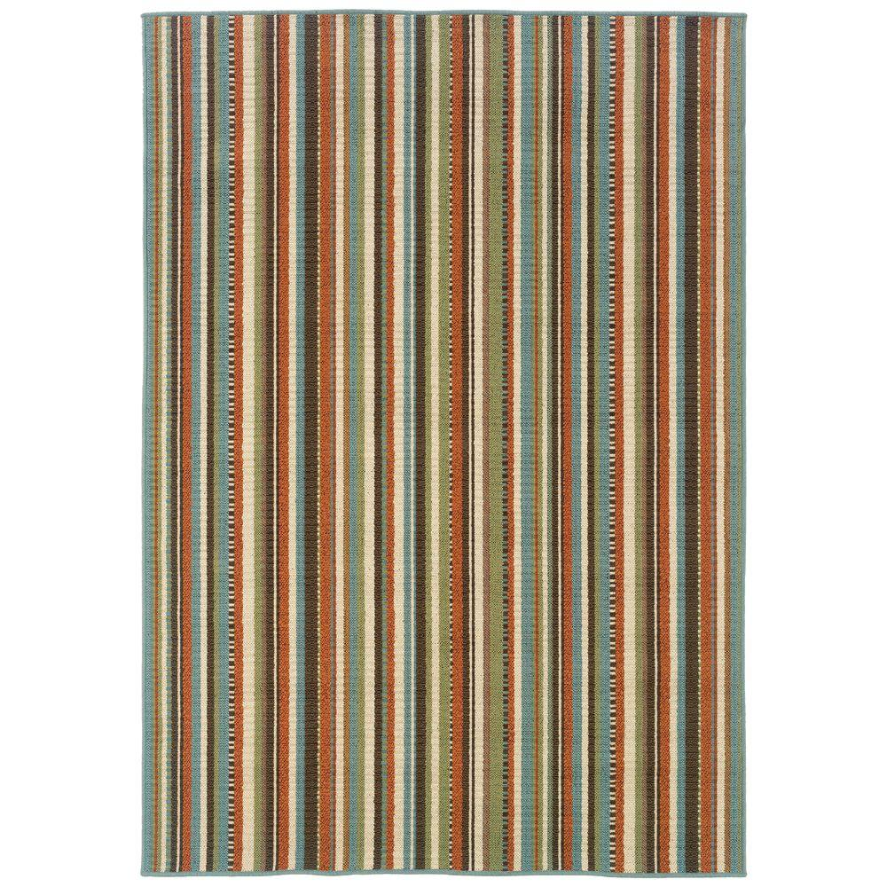 Oriental Weavers Cabana Terracotta 2 ft. 5 in. x 4 ft. 5 in. Accent Rug