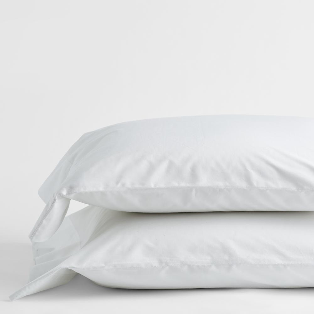 Pair of Pillowcases Cotton Percale from 50x80 cm