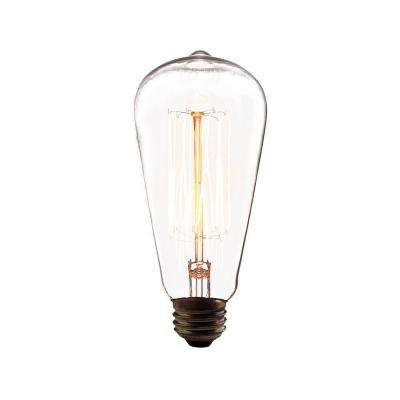 60-Watt Incandescent A19 A-Line Light Bulb Retro Collection - Vintage Style Light Bulb