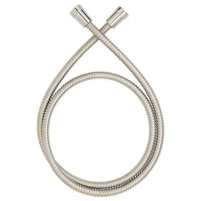 5 ft. Metal Shower Hose in Brushed Nickel