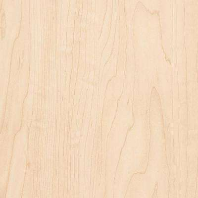 2 in. x 3 in. Laminate Countertop Sample in Manitoba Maple with Standard Matte Finish