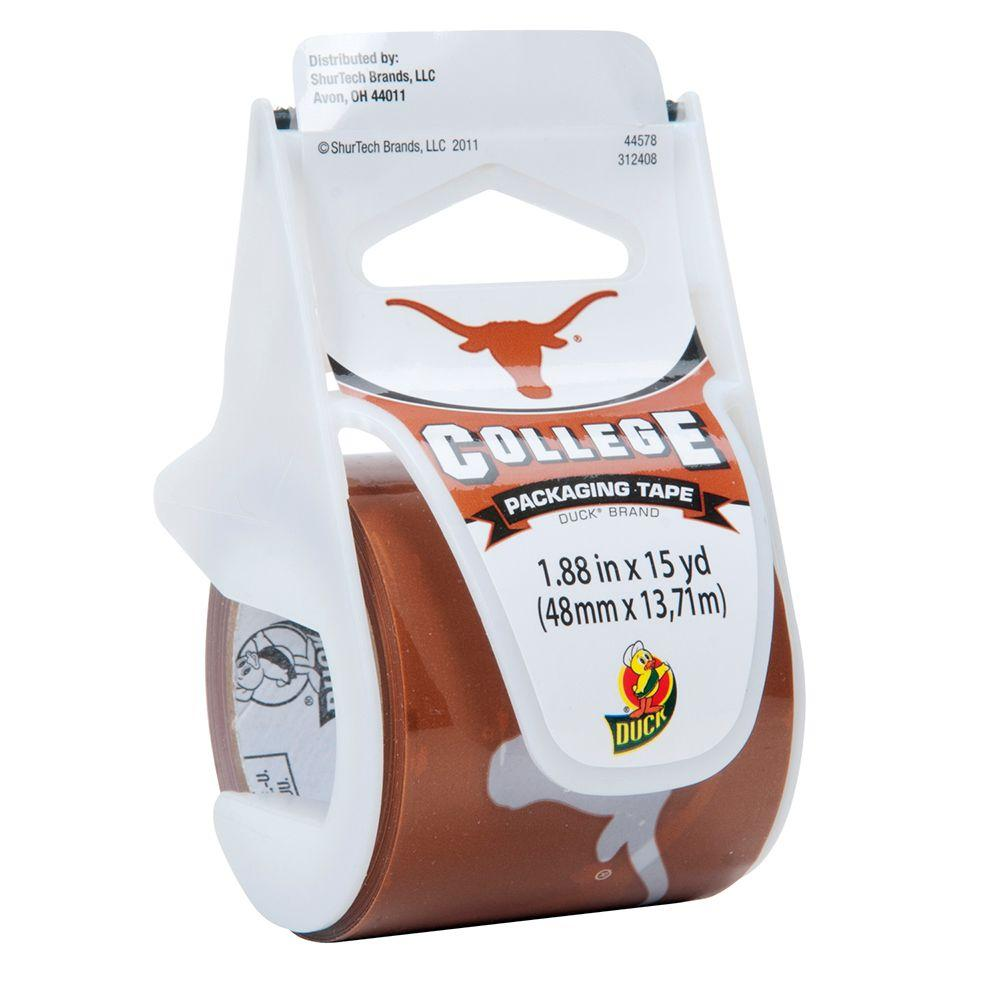 Duck 1.88 in. x 15 yds. Texas Packaging Tape (5-Pack)