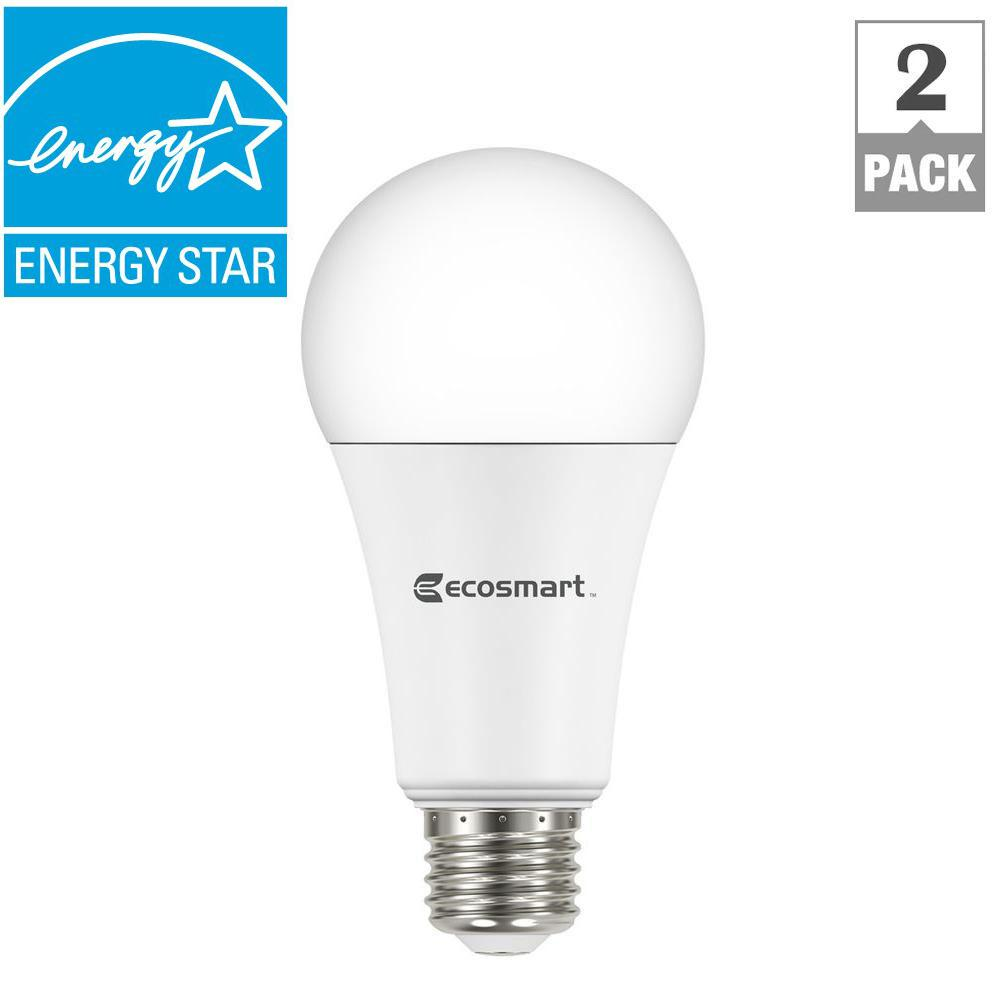 Ecosmart 100w Equivalent Soft White A19 Dimmable Led Light
