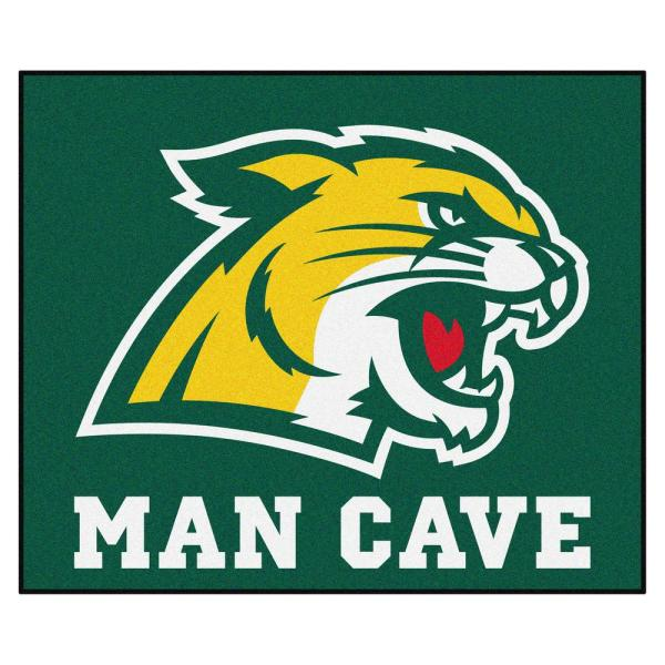 NCAA - Northern Michigan University 5 ft. x 6 ft. Man Cave Tailgater Indoor Area Rug