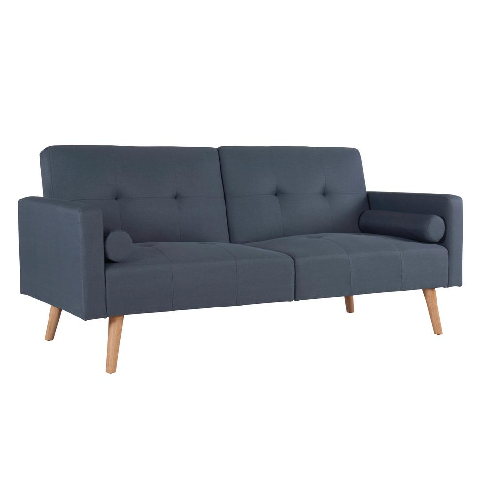 Simmons Montreal Grey Convertible Sofa