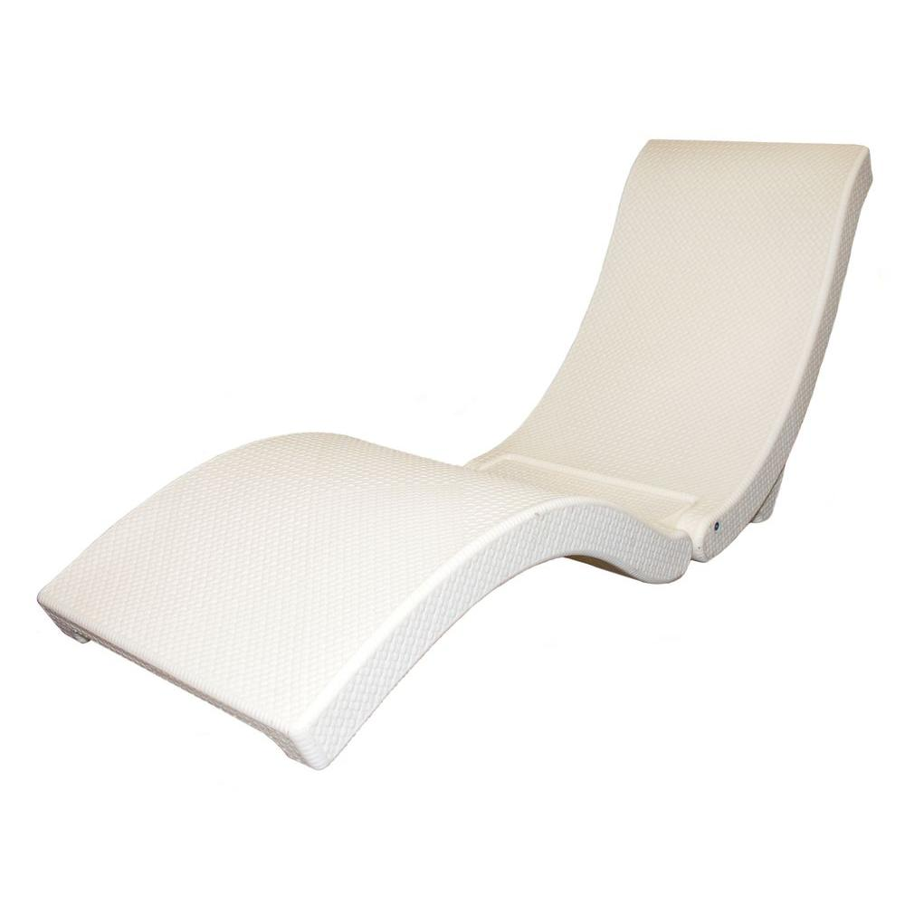 Swim Ways Terra Sol Sonoma Cream Pool and Patio Floating Lounge-DISCONTINUED