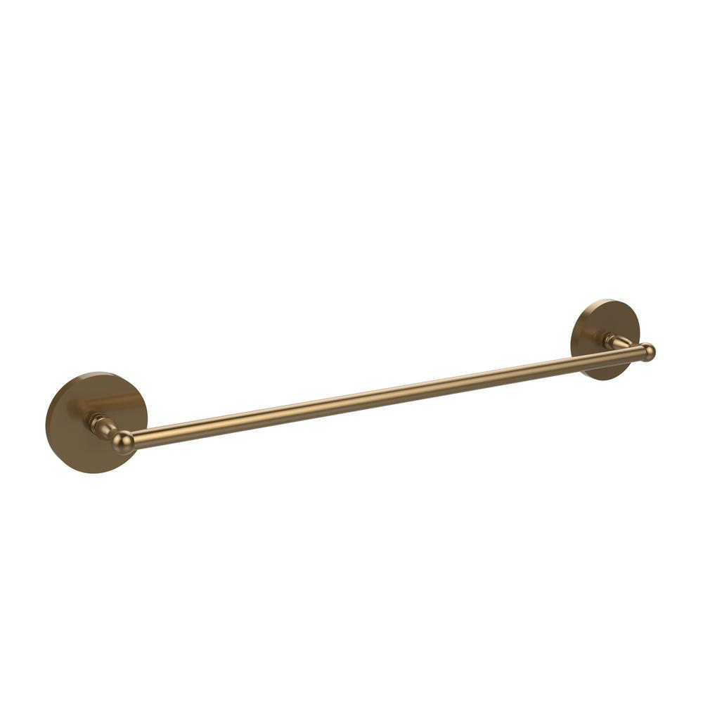 Skyline Collection 18 in. Towel Bar in Brushed Bronze