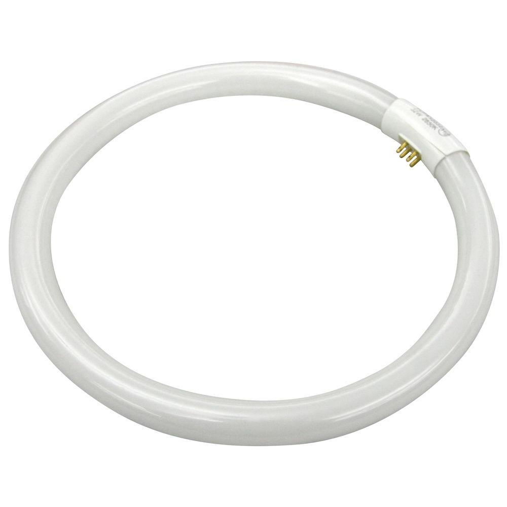 TCP 130W Equivalent Soft White (2700K) T6 Circline CFL Light Bulb