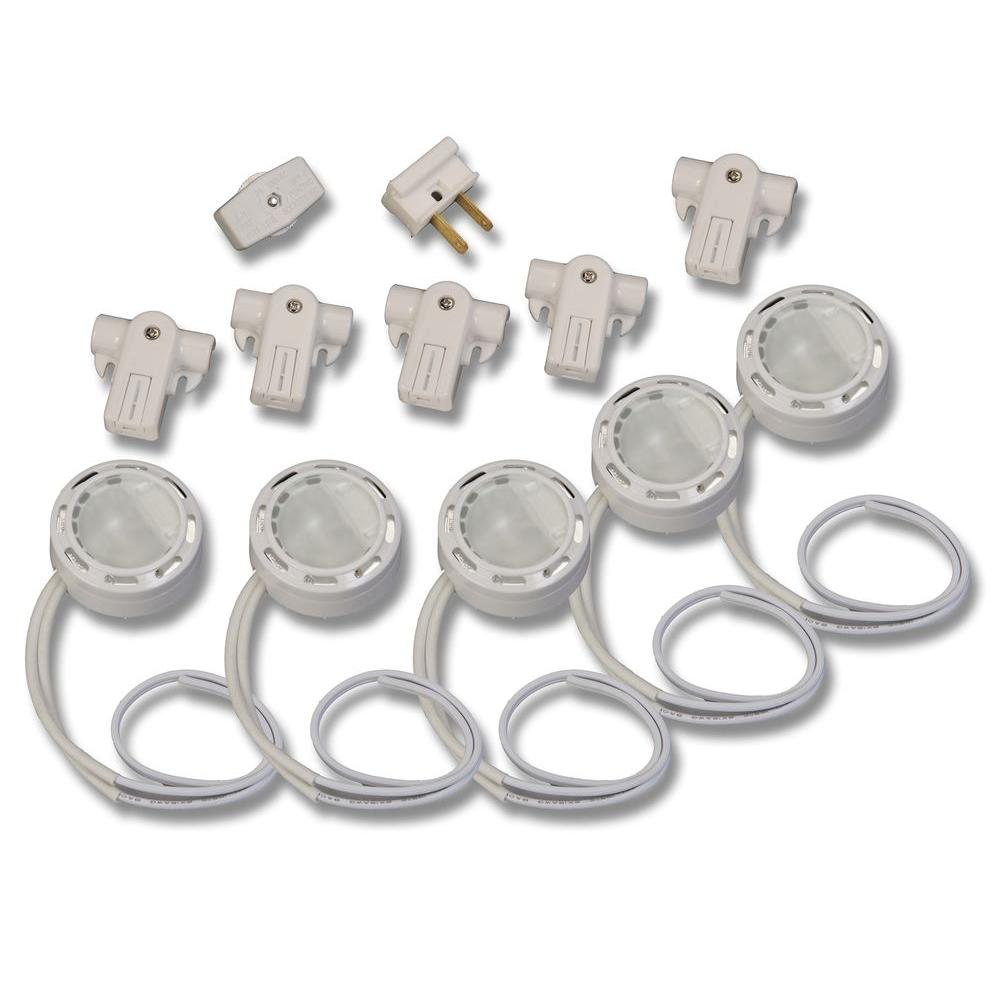 Westek Line Voltage Xenon White Pucks (5-Pack)