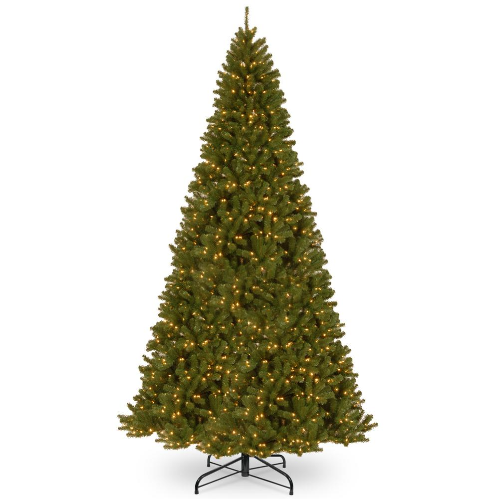 National Tree Company 16 Ft North Valley Spruce Artificial Christmas With Clear Lights