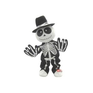 Deals on Home Accents Holiday 12.5 in. Animated Dancing Skeleton