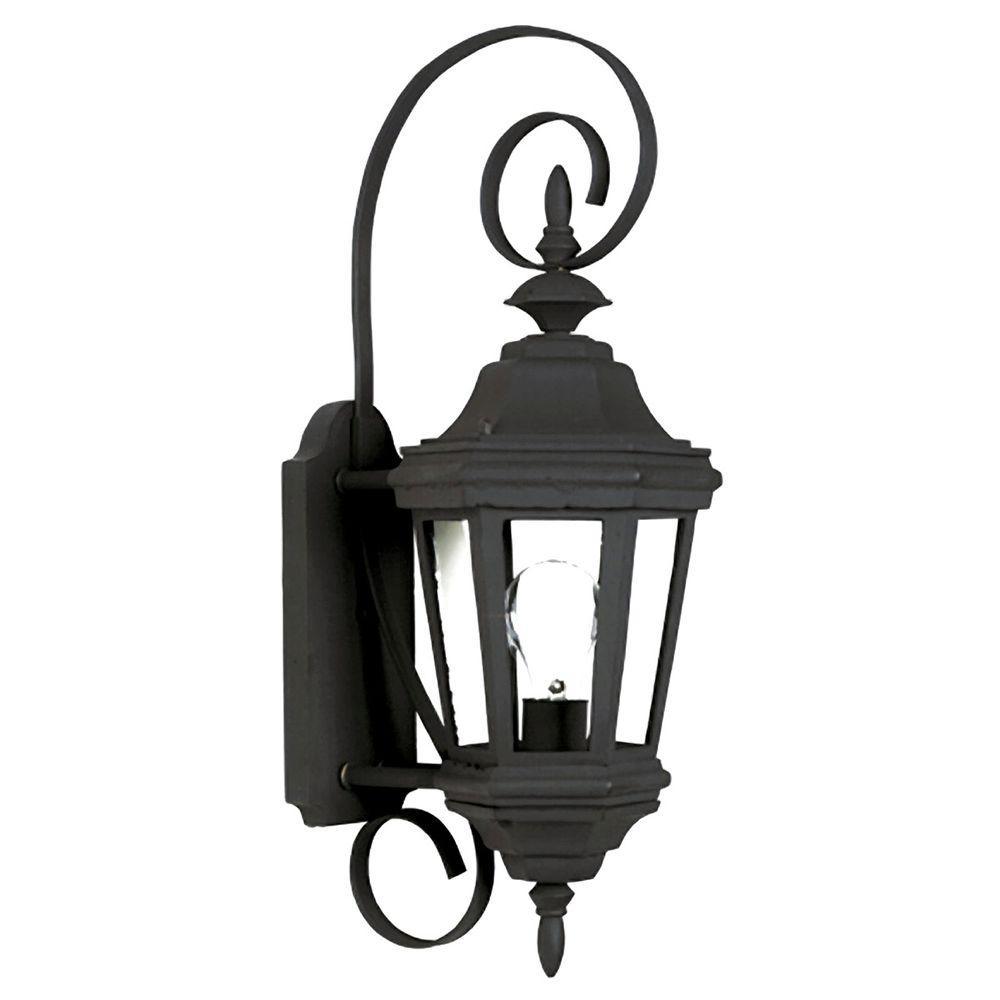 Estate Black Outdoor Small Wall Mount Lantern