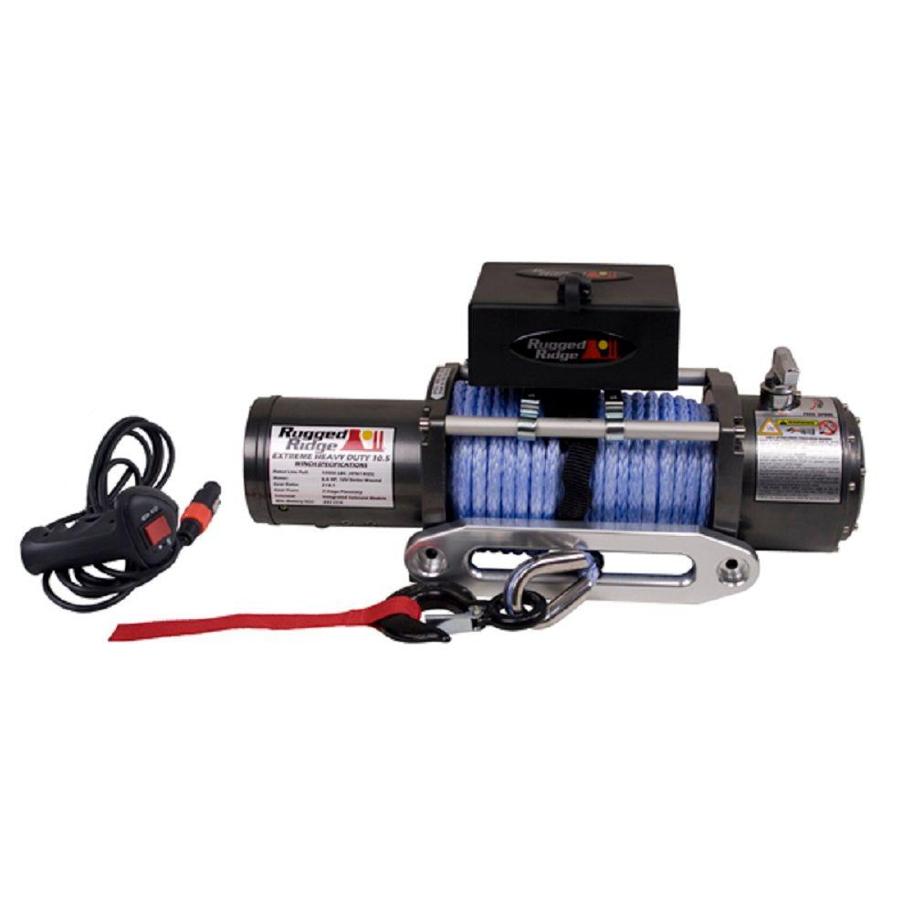10,500 lbs. Capacity Performance Off-Road Winch