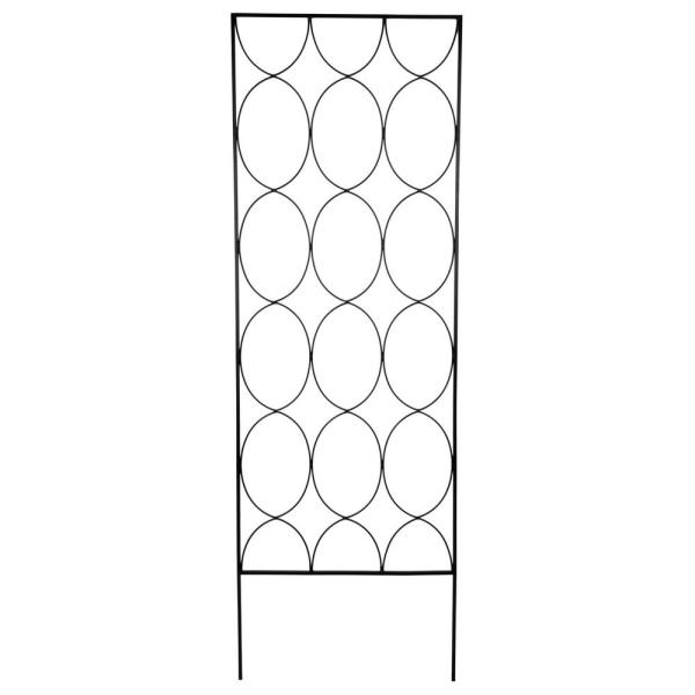 72 in. Geometric Trellis
