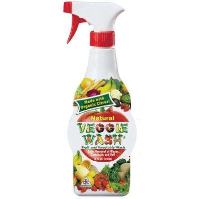 16 oz. All Natural Fruit and Vegetable Wash Disinfectant Sprayer (3-Pack)