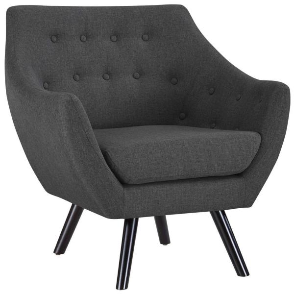MODWAY Gray Allegory Arm Chair EEI-2549-GRY