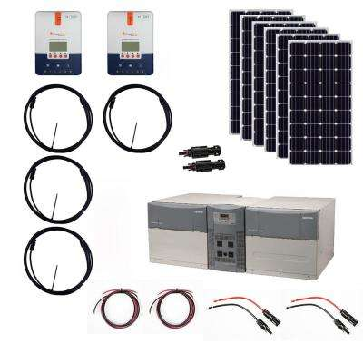 1,080-Watt Off-Grid Solar Generator Kit