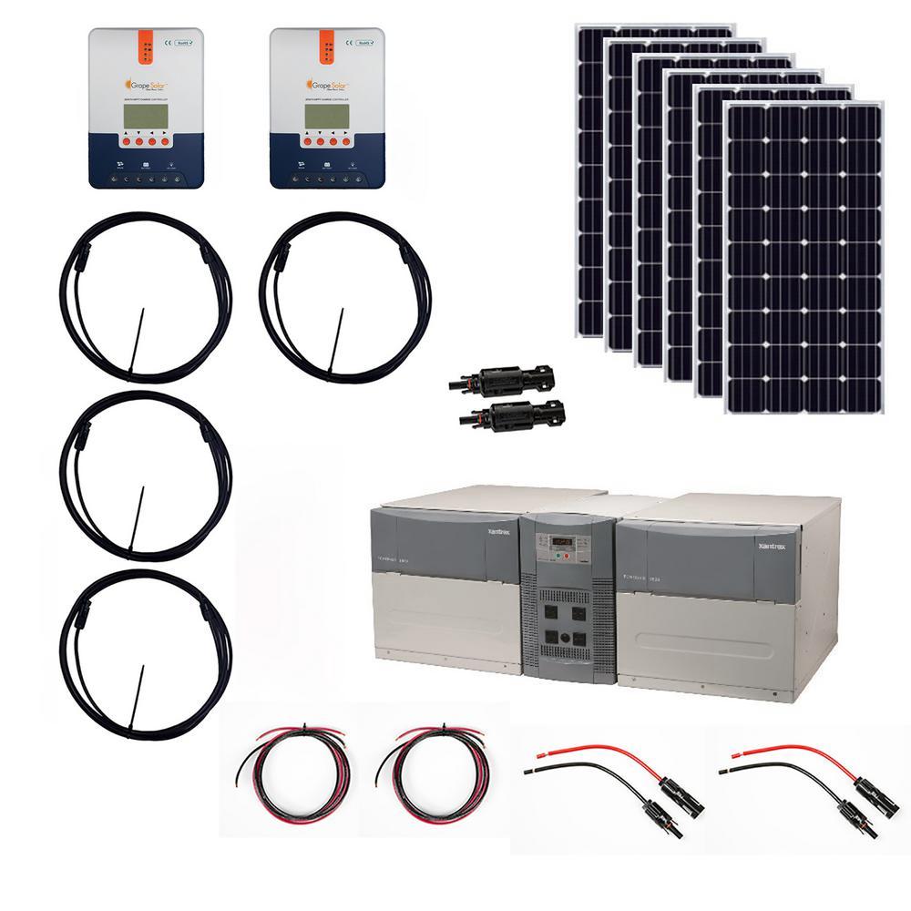 1,080-Watt Off-Grid Solar Generator Kit