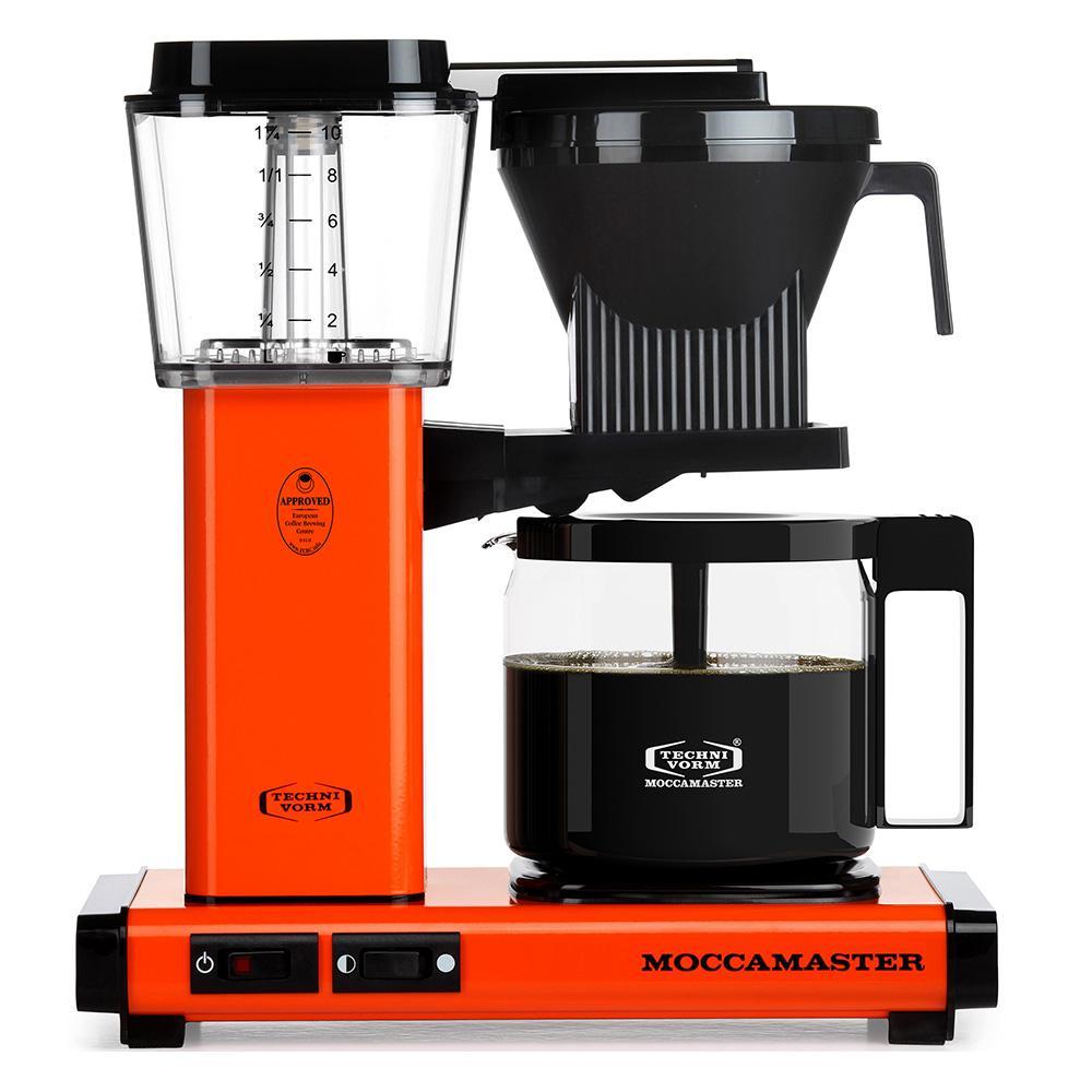 KBG 10-Cup Orange Drip Coffee Maker